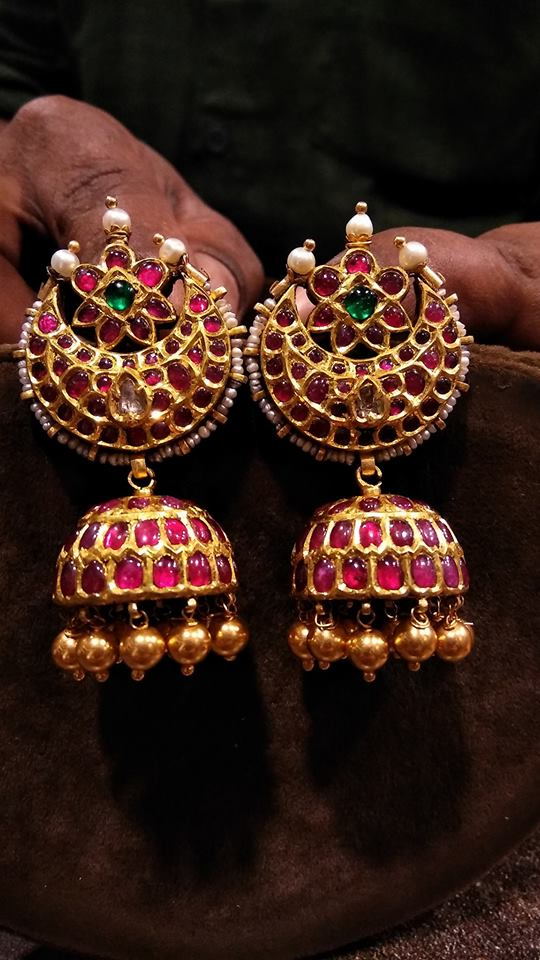 Antique Jhumka Designs