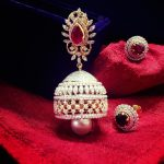 16 Mind Blowing Diamond Jhumka Designs