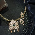 22 Trendy Gold Necklace Set Designs