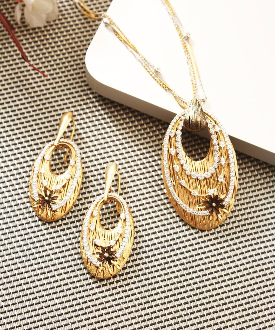 Gold Necklace Set Designs