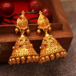 21 Gorgeous South Indian Style Gold Jhumka Designs