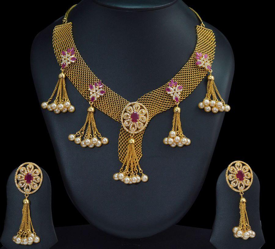 Stone Necklace Designs