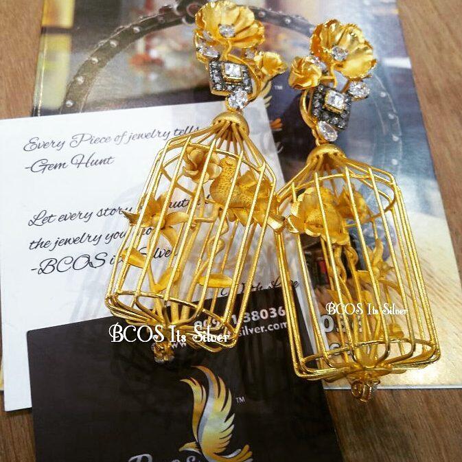 Jhumka design image 17 bcosits-silver