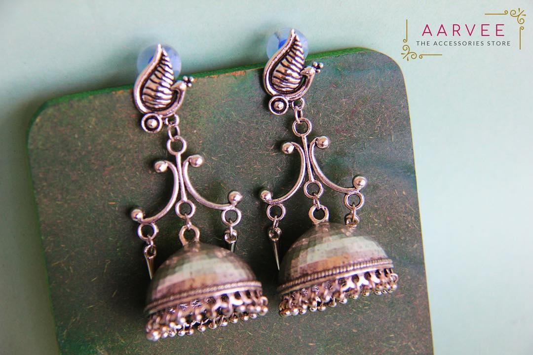 jhumka design image 25 Aarvee