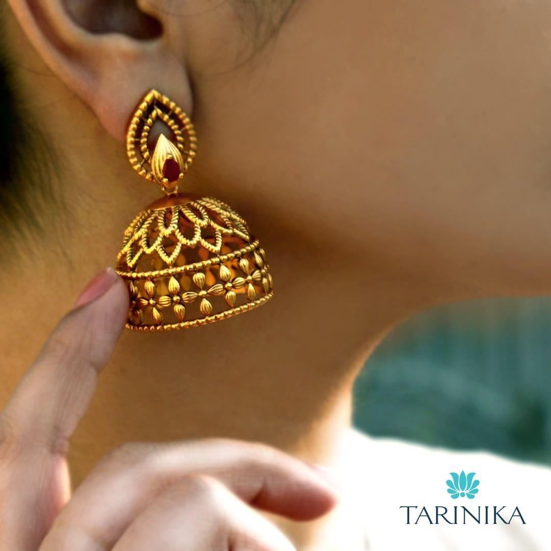 jhumka design image 4 Tarinika