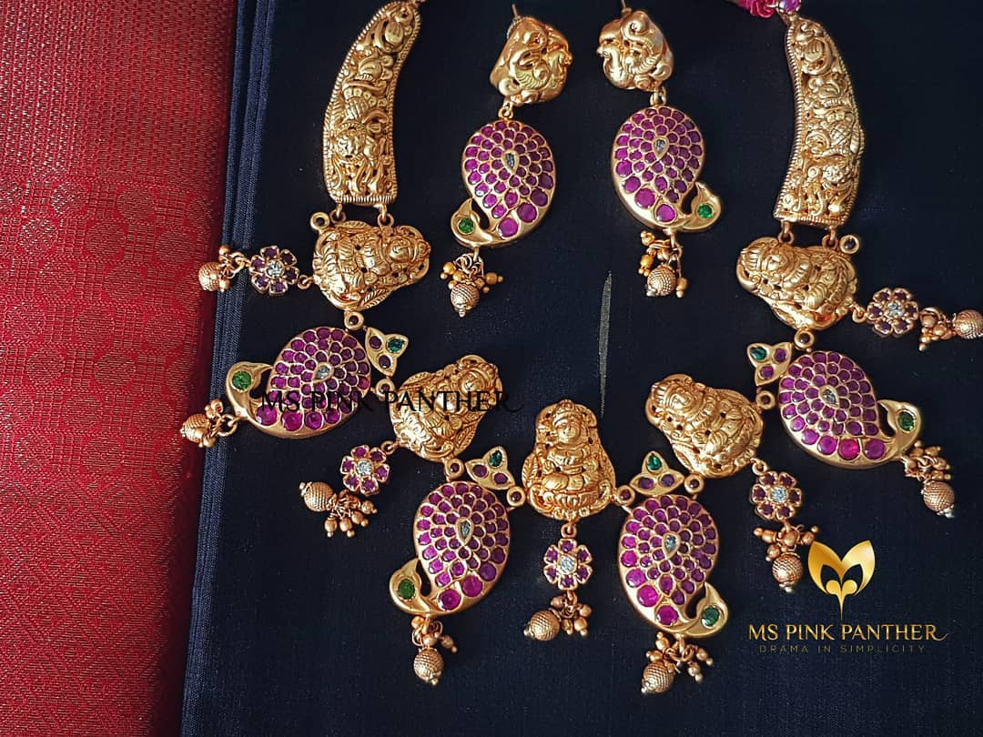 shop artificial jewellery online 16 ms pink panther