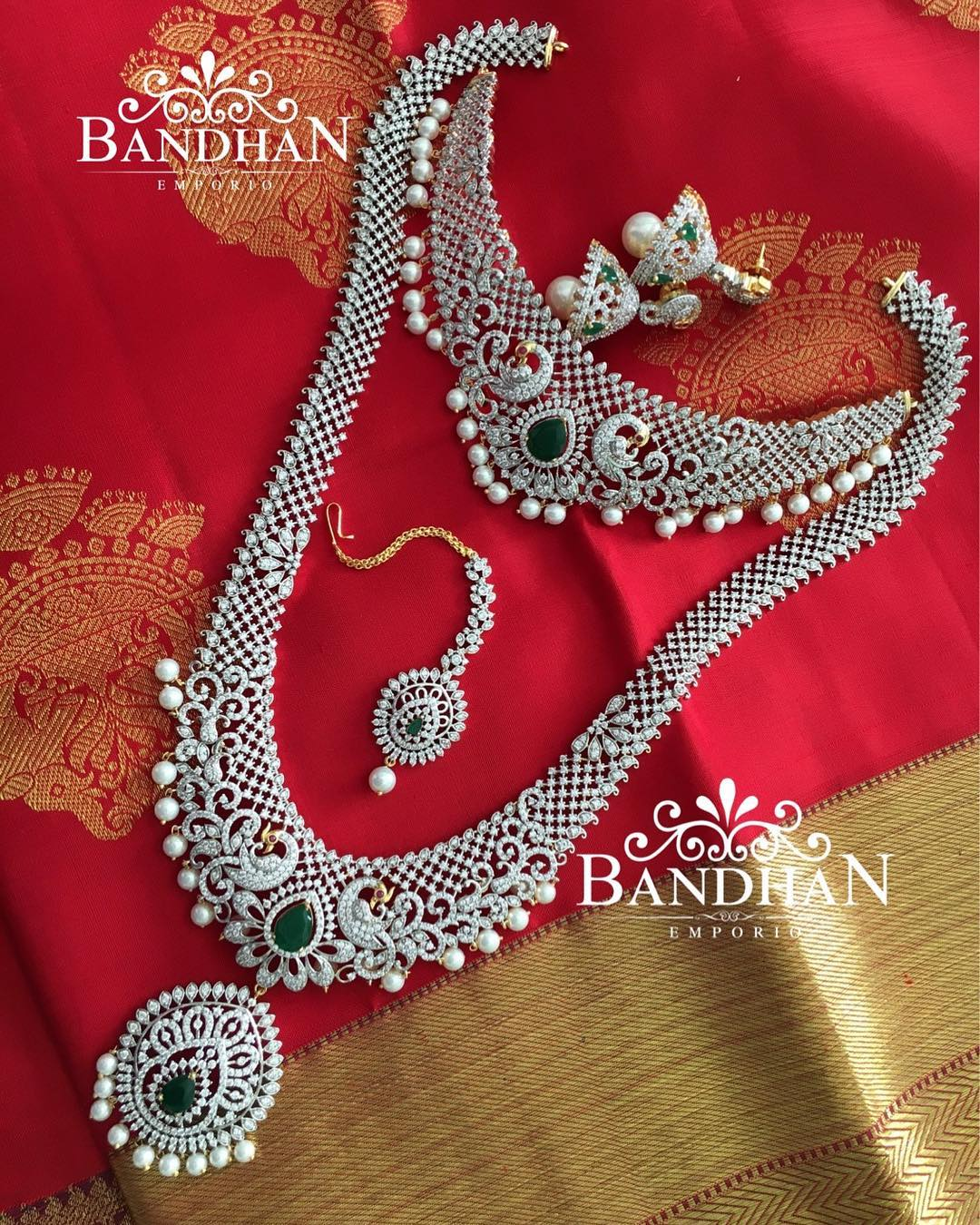 shop artificial jewellery online 8 Bandhan