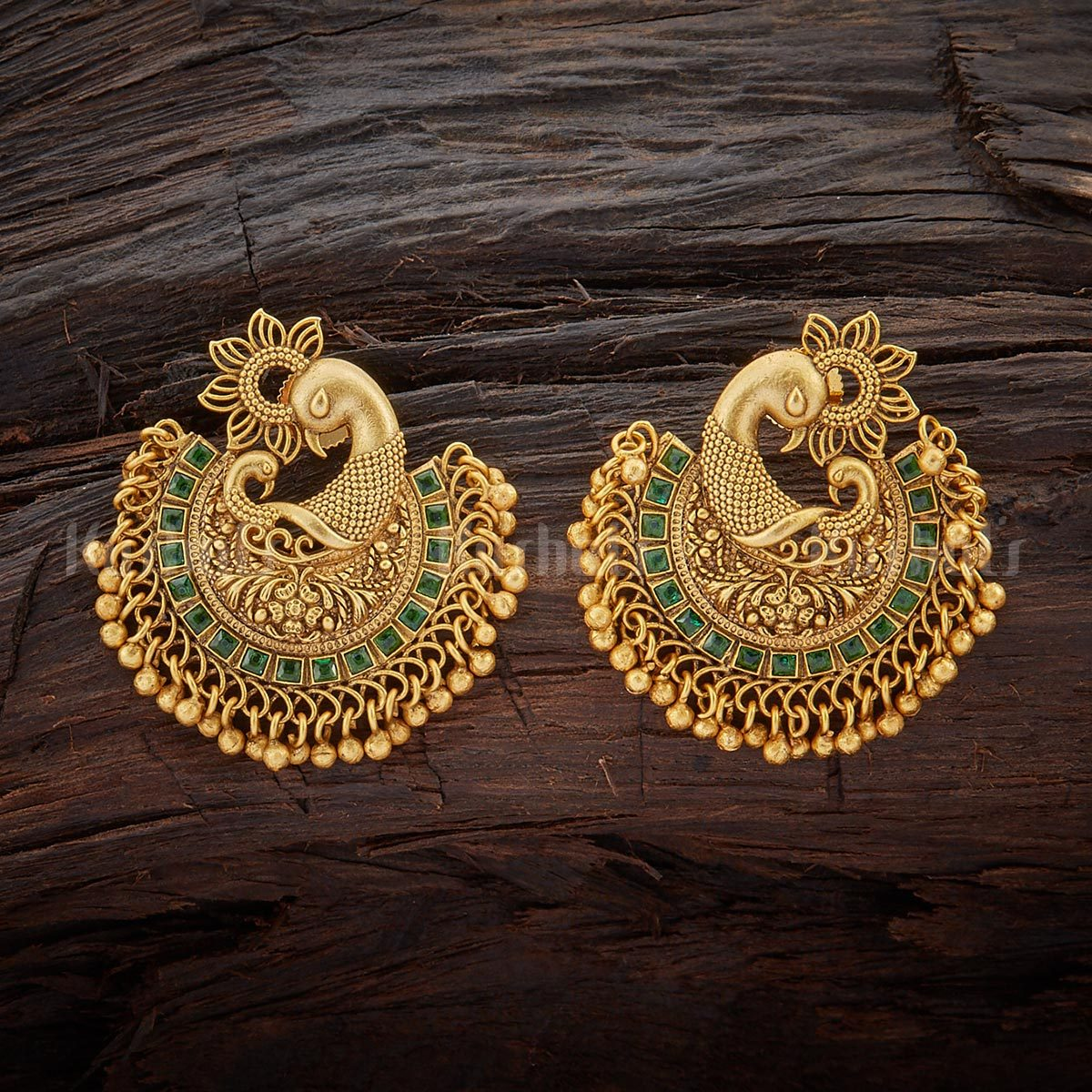 20 Spectacular Antique Earrings Designs Where To Them South India Jewels