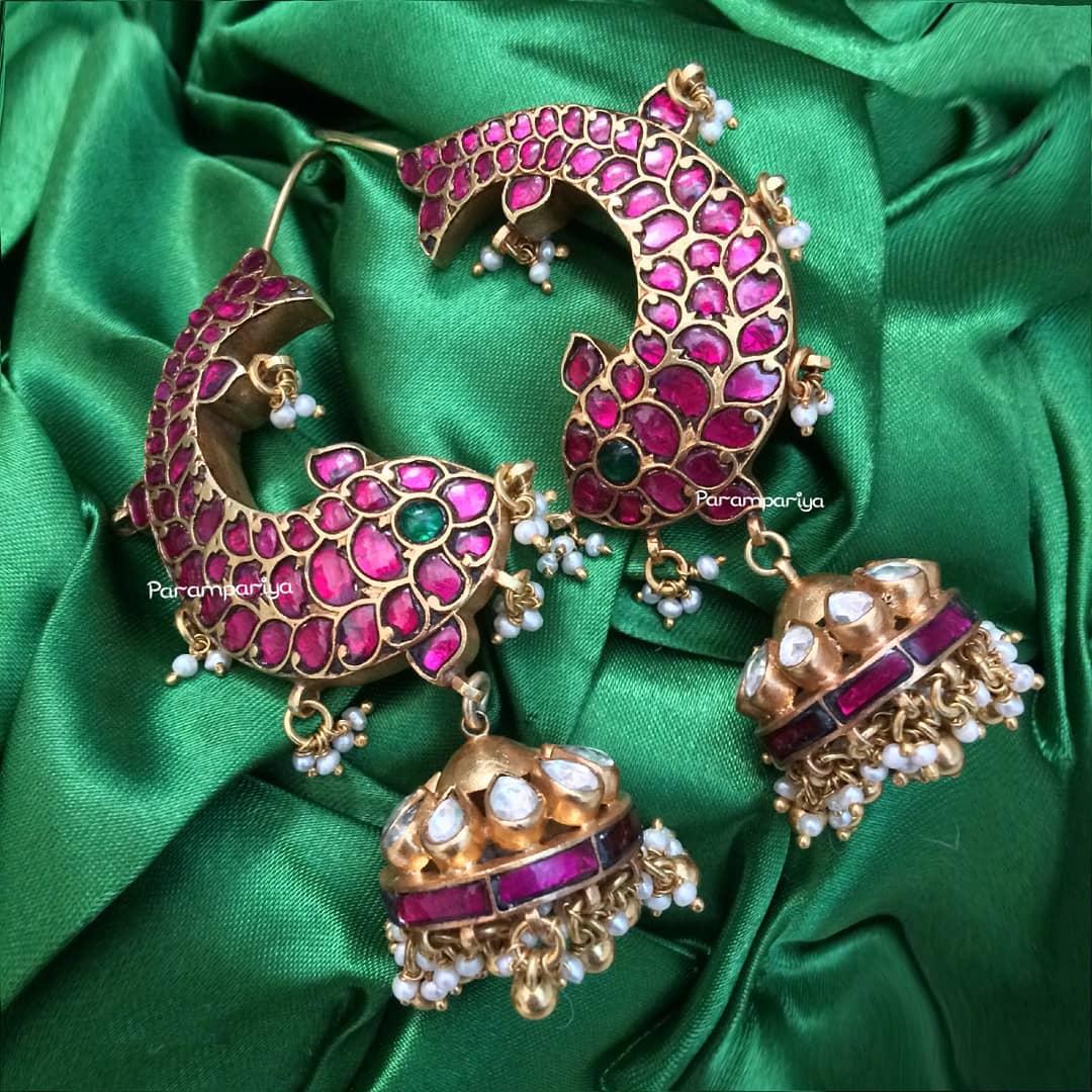 birdal jhumkas online shopping