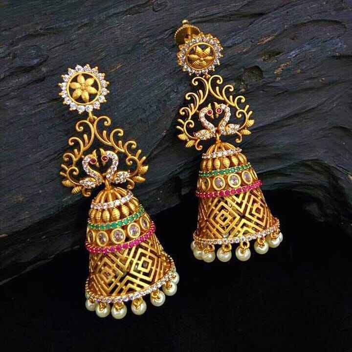 Beautiful South Indian Style Earrings