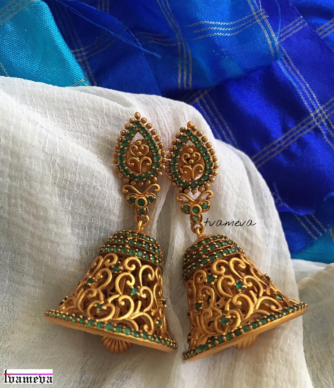 Wedding earrings for brides