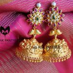 17 Must Have Temple Jewellery Jhumka Designs!