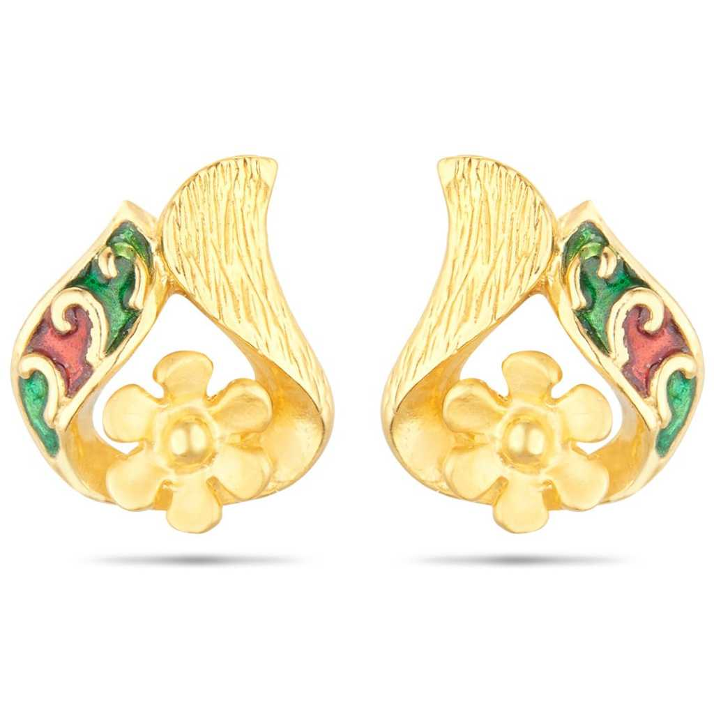 gold earrings designs in 2 gram