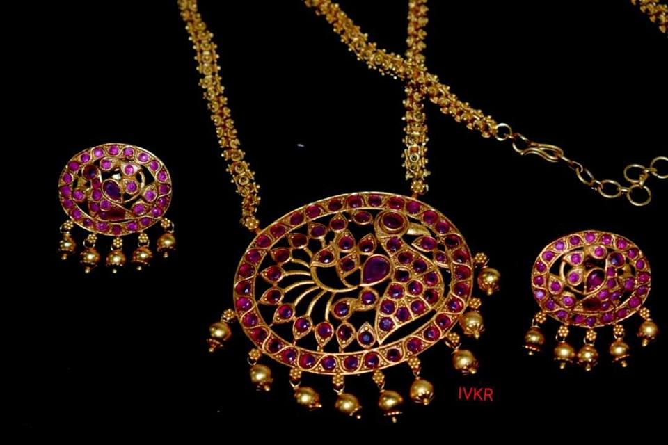 one gram gold long chains designs