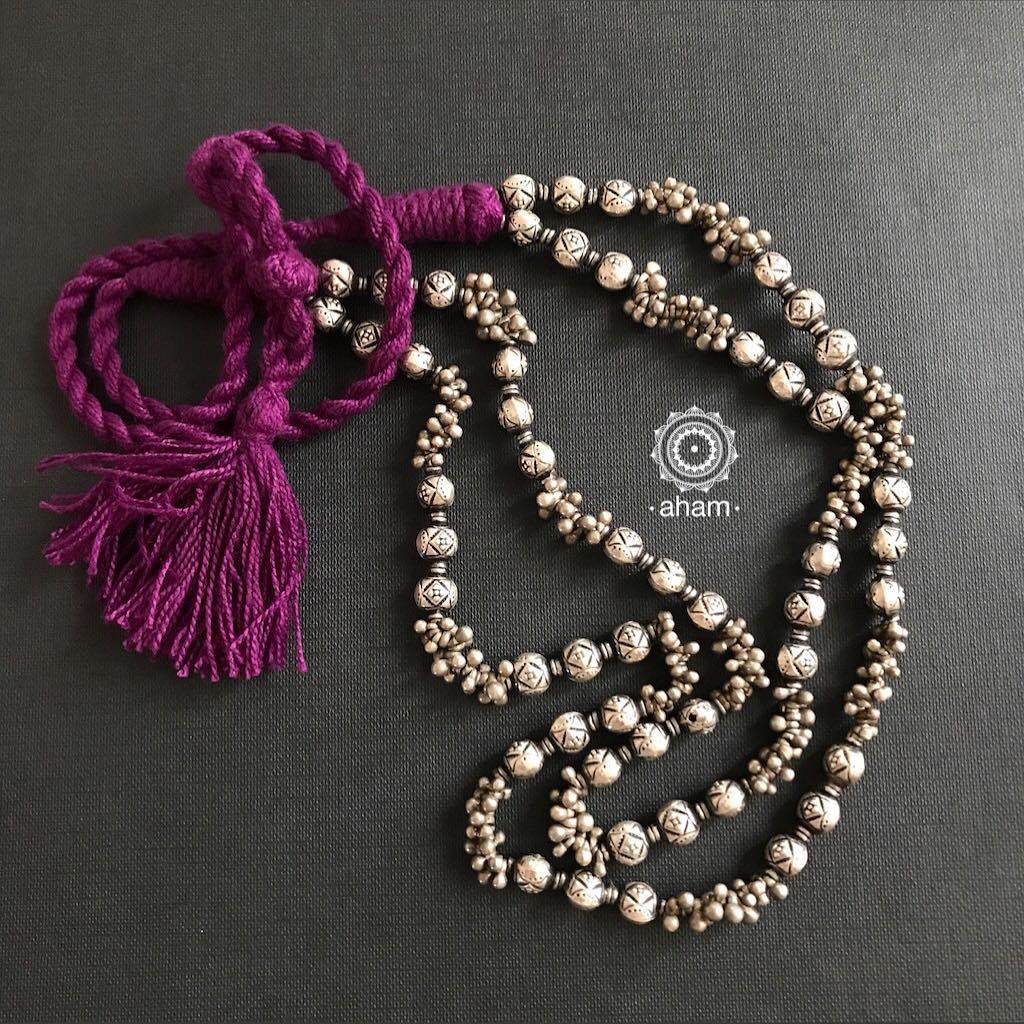 Silver necklace sets