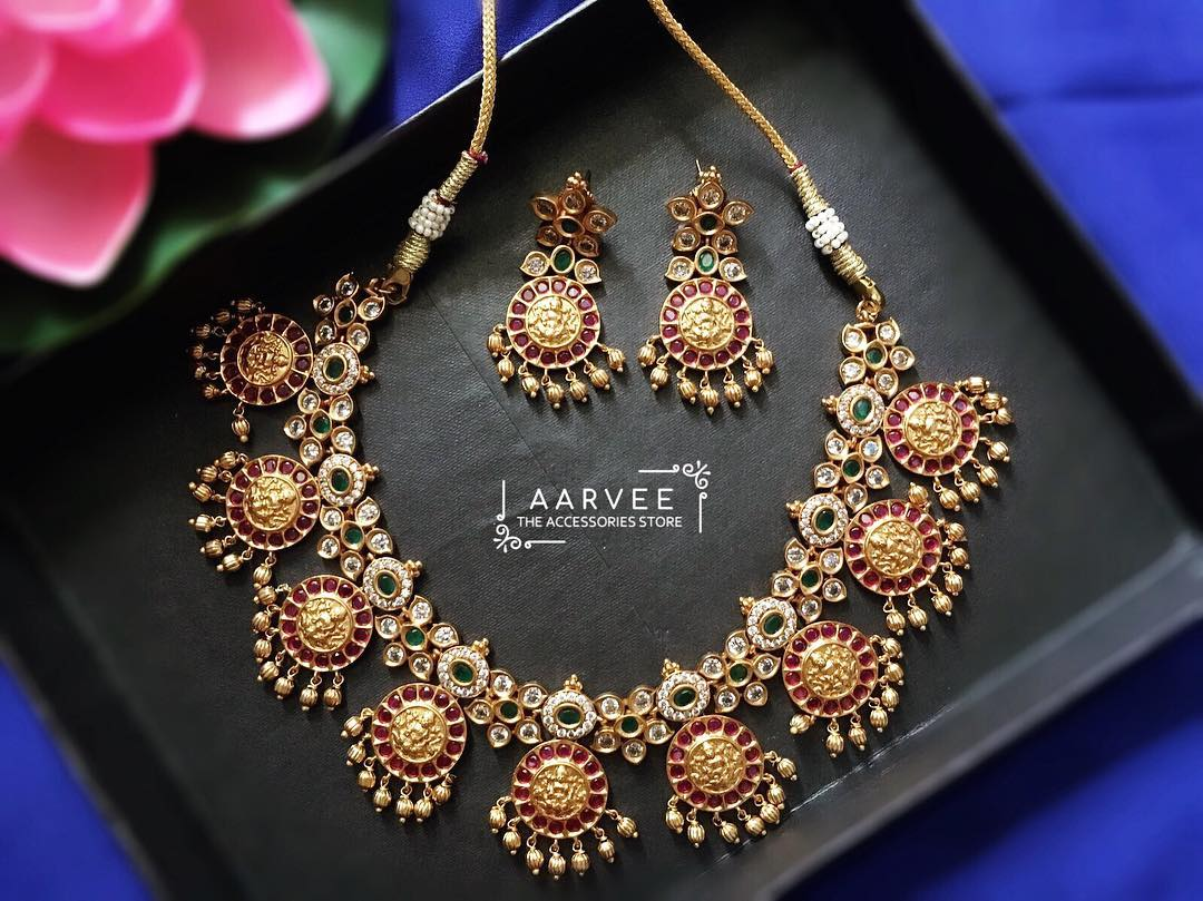 0427adbc7fd artificial-jewellery-sets-online-shopping-featured • South India Jewels