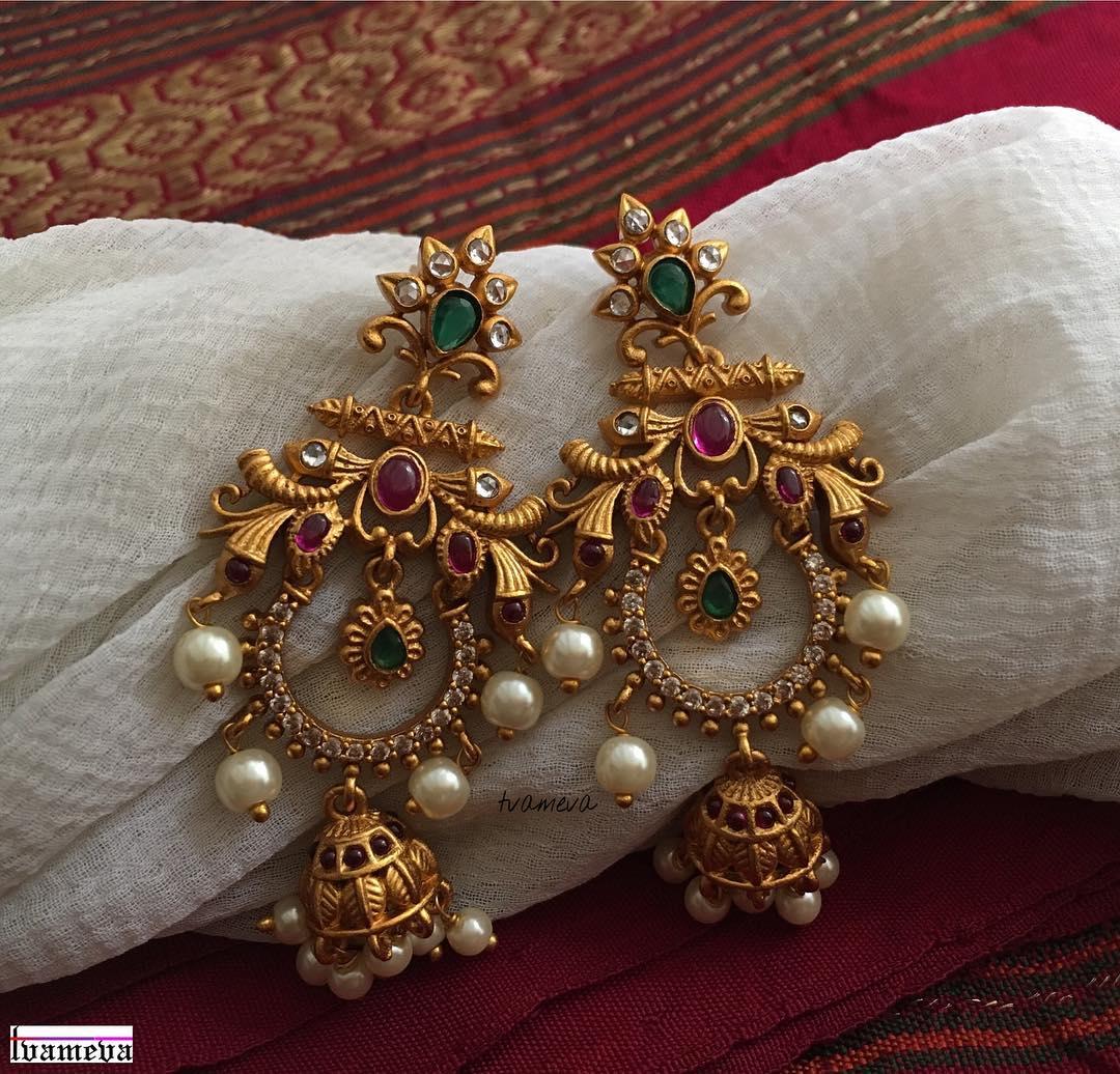 chandbali earrings designs