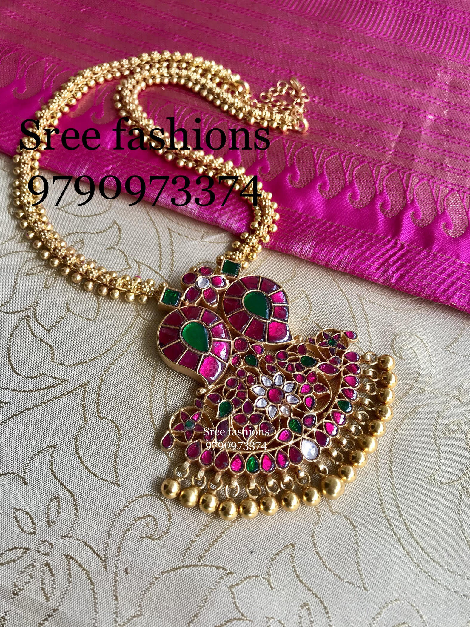 Traditional Jewellery Designs Necklace