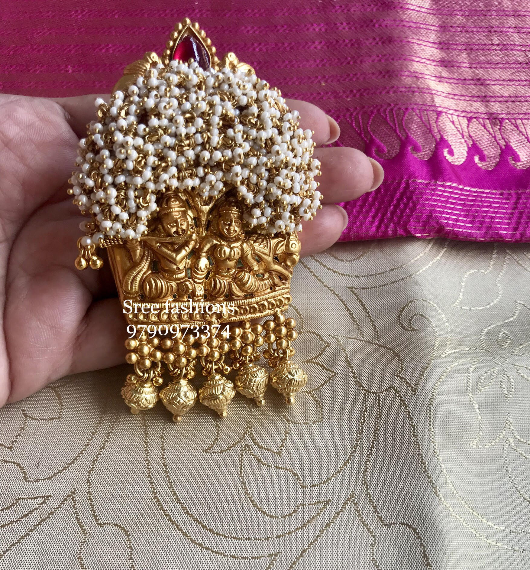 Traditional Jewellery Designs Pendant