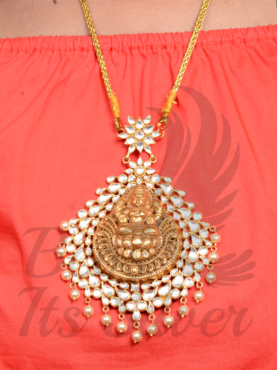 3c4051182 Traditional Antique Pendant Designs (1) • South India Jewels