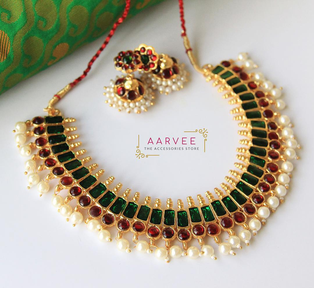shop bharatanatyam temple jewellery