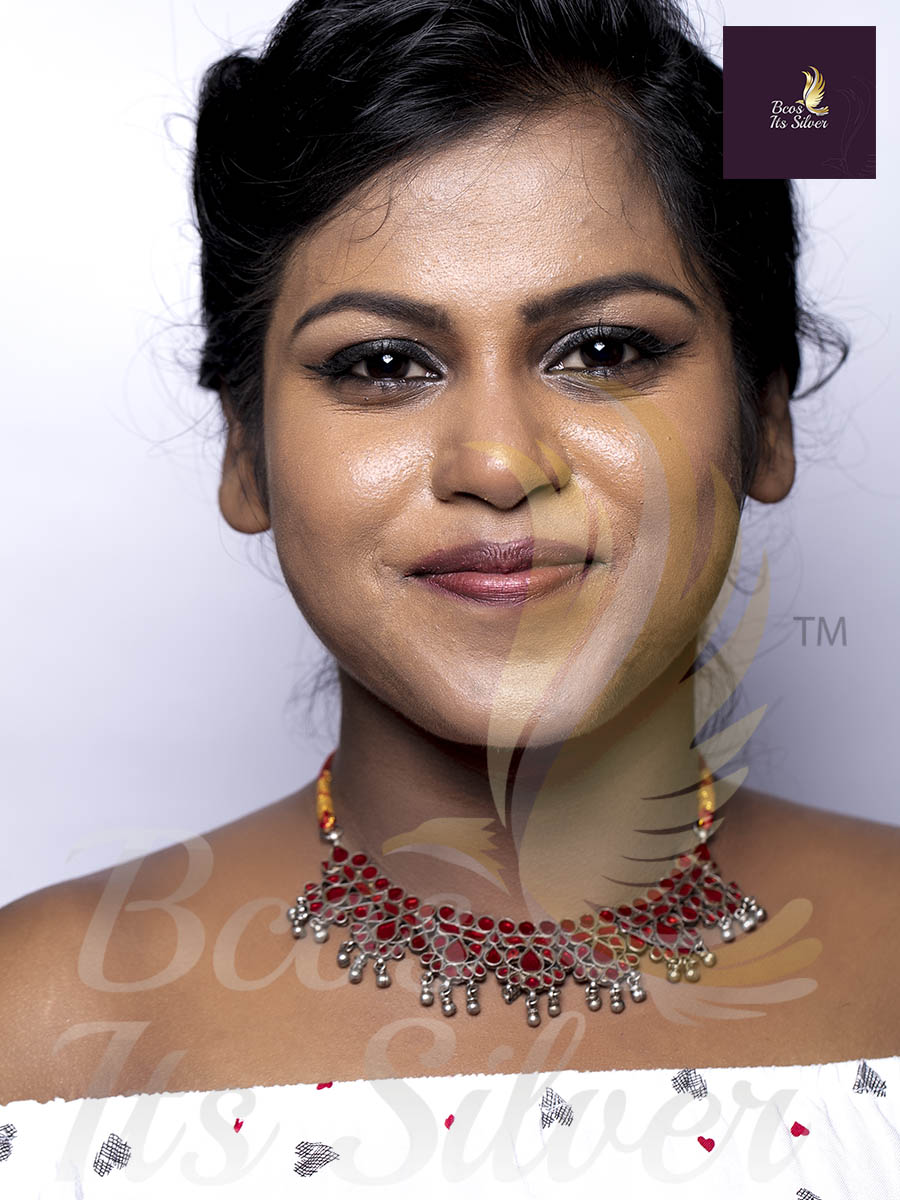 thread necklace designs