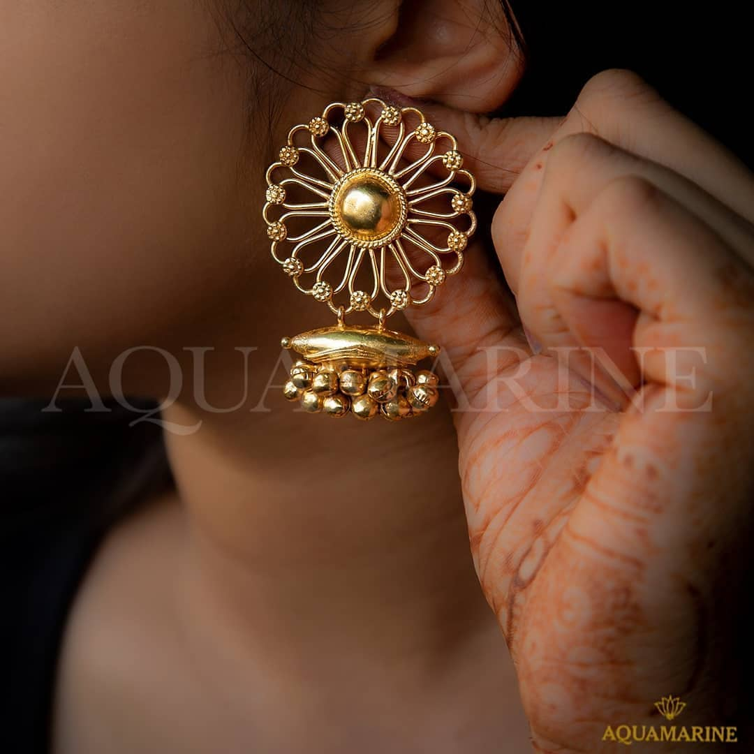 Prettiest jhumka designs