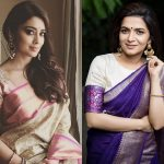 Celebs Inspire Us To Wear Sarees With Just Earrings