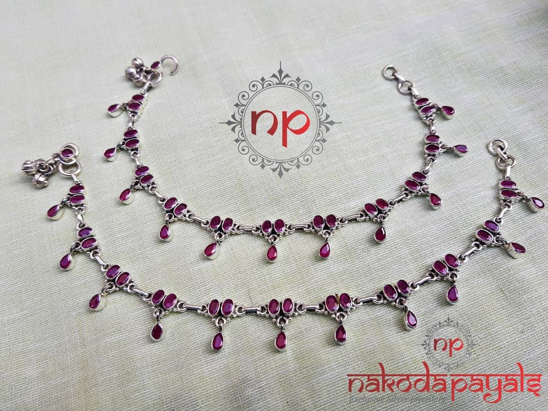pure-silver-anklet-designs-2019 (10)