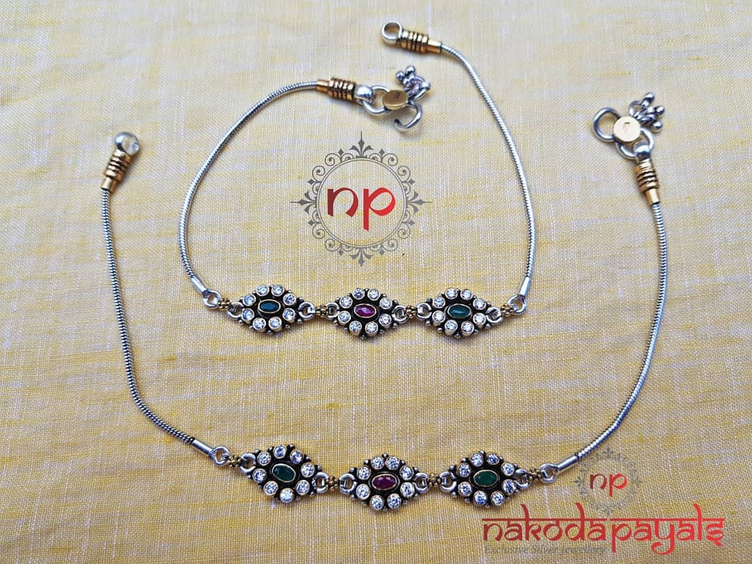 pure-silver-anklet-designs-2019 (11)