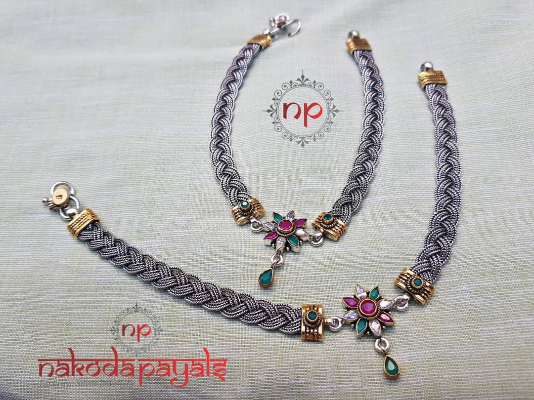 pure-silver-anklet-designs-2019 (15)