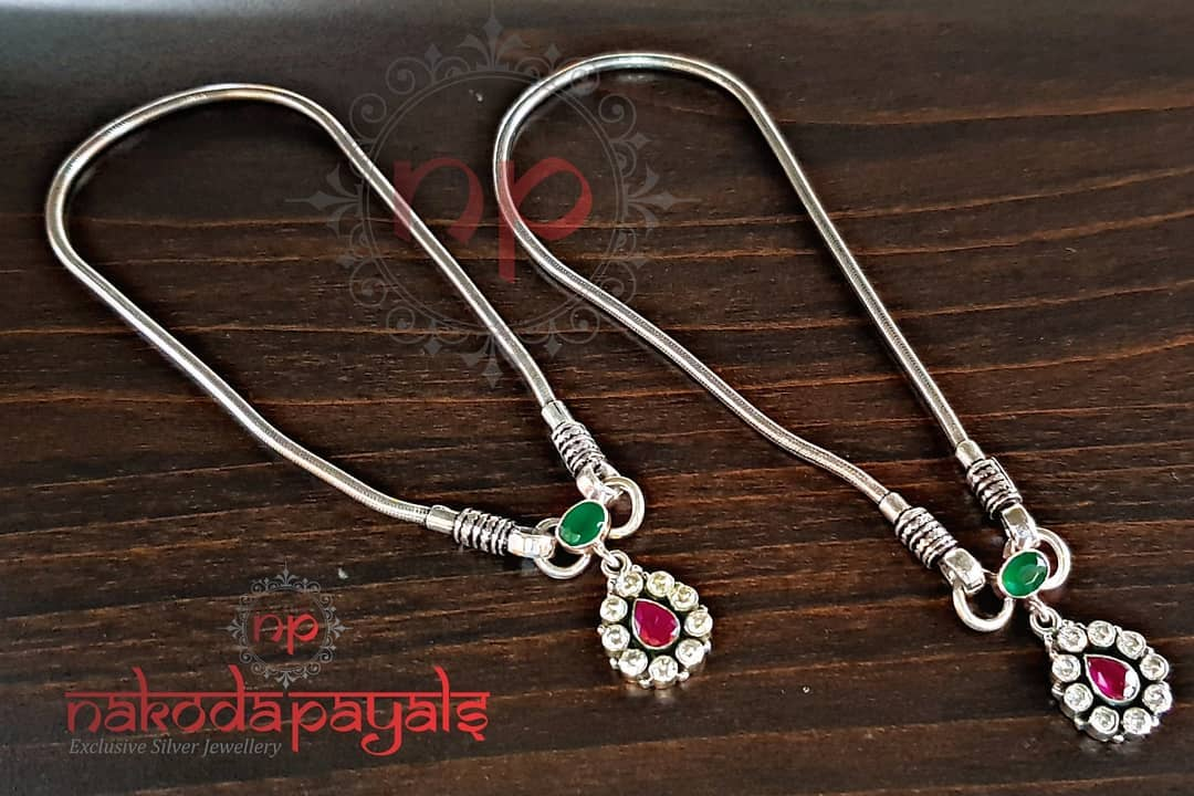 pure-silver-anklet-designs-2019 (2)