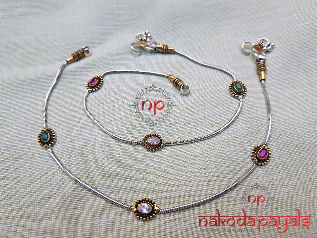 pure-silver-anklet-designs-2019 (4)