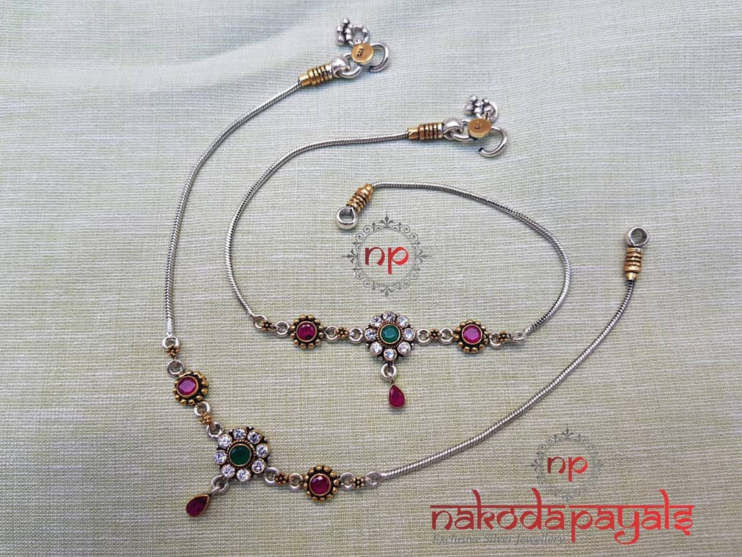 pure-silver-anklet-designs-2019 (5)