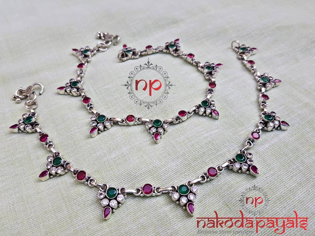 pure-silver-anklet-designs-2019 (7)