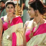 The Art Of Styling Sarees With Bold Antique Necklace