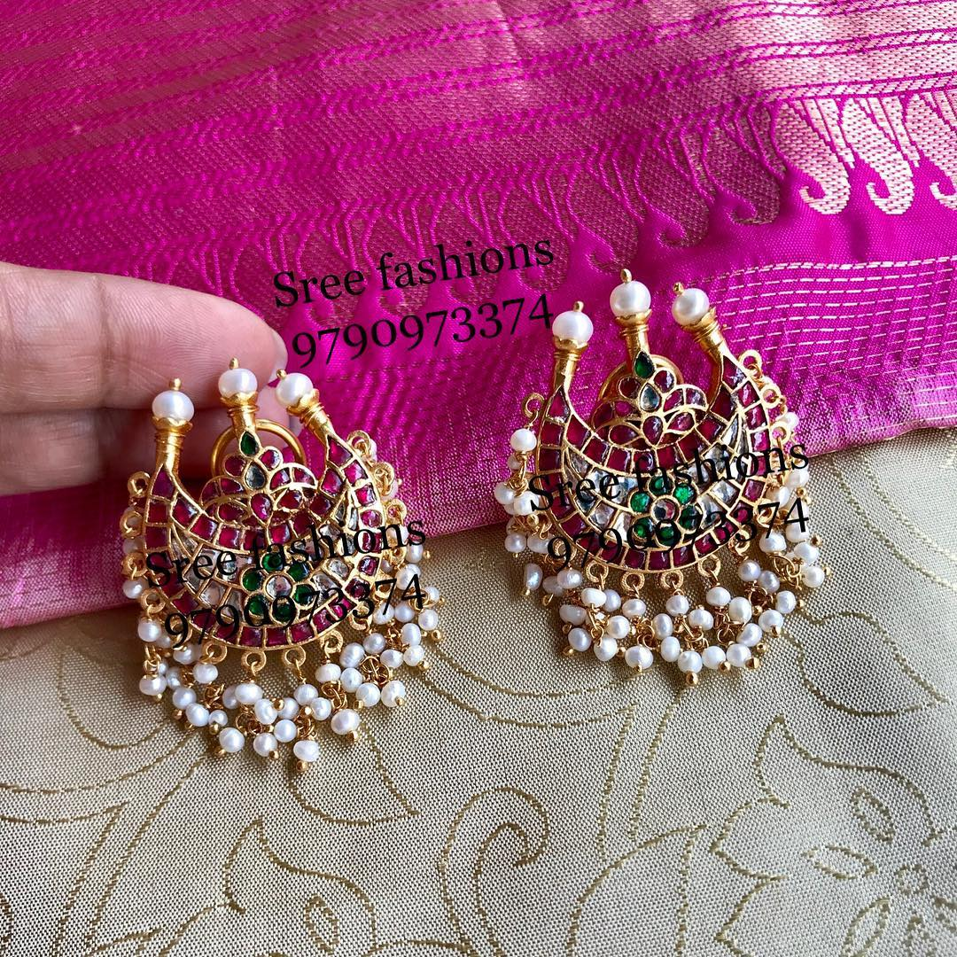 antiques-stone-earrings-designs-2019 (11)