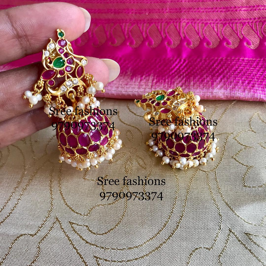 antiques-stone-earrings-designs-2019 (2)