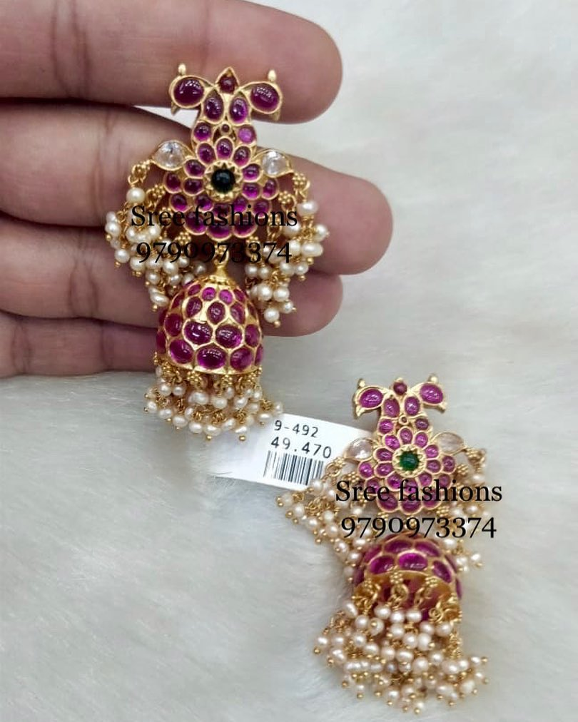 antiques-stone-earrings-designs-2019 (5)