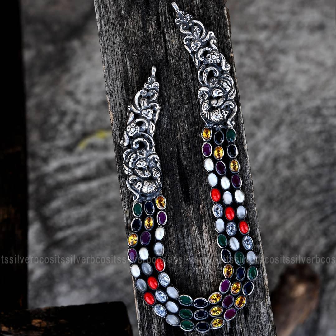pure-silver-neckalce-designs (3)