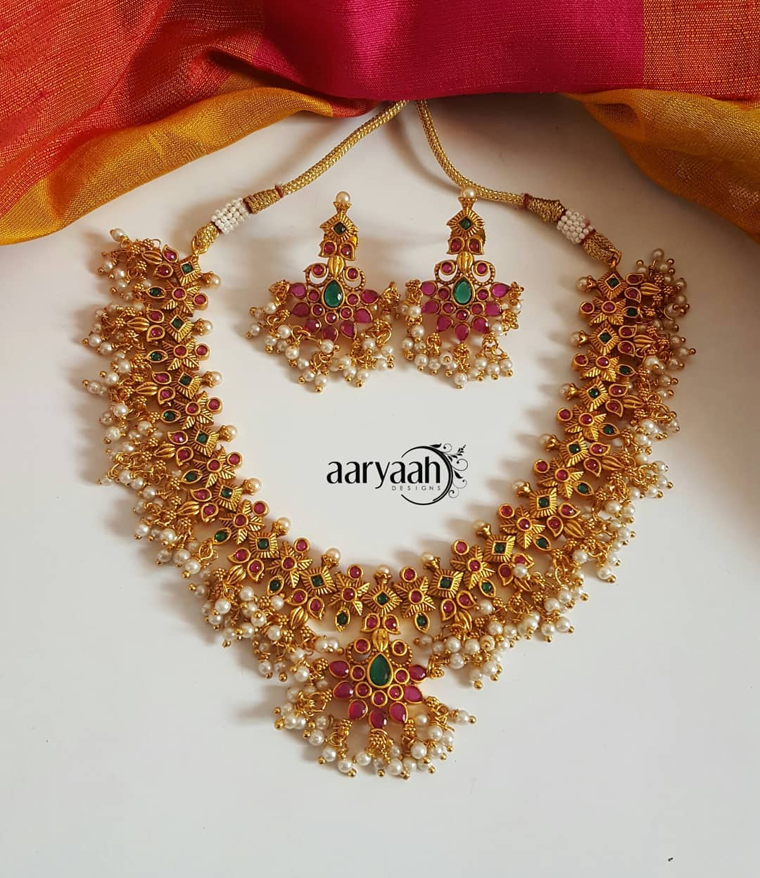 783d3c5e4c082 3 Brands To Shop South Indian Imitation Jewellery Sets