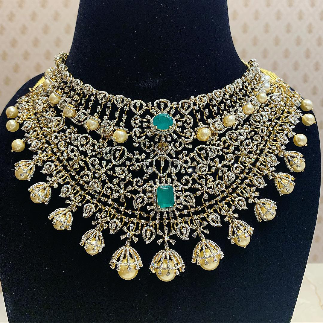 diamond-choker-necklace-designs-2019 (3)