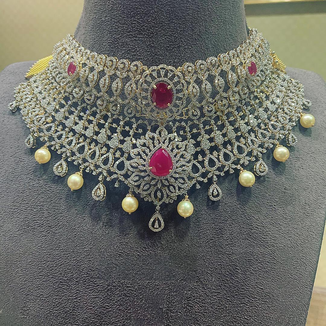 diamond-choker-necklace-designs-2019 (4)