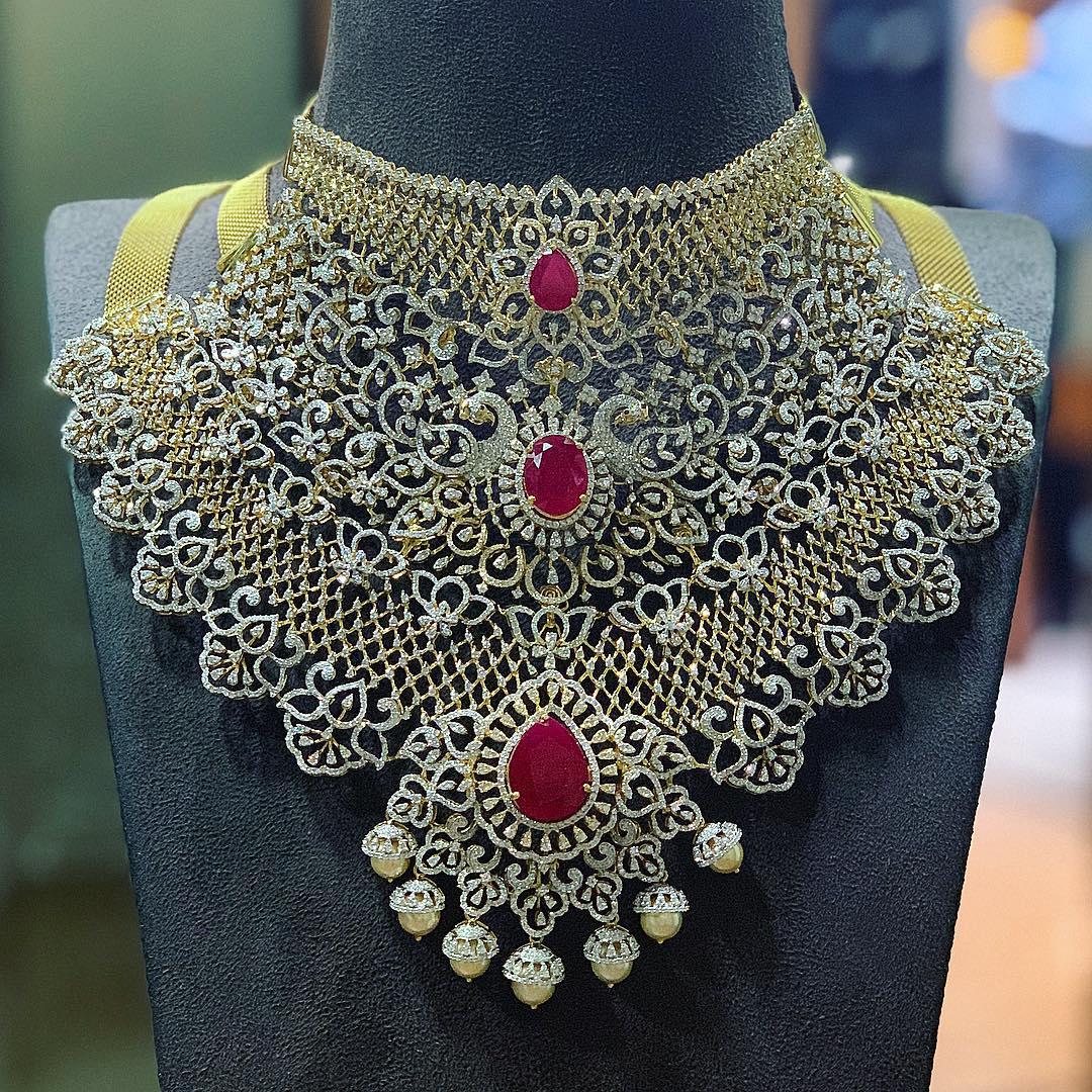 diamond-choker-necklace-designs-2019 (7)