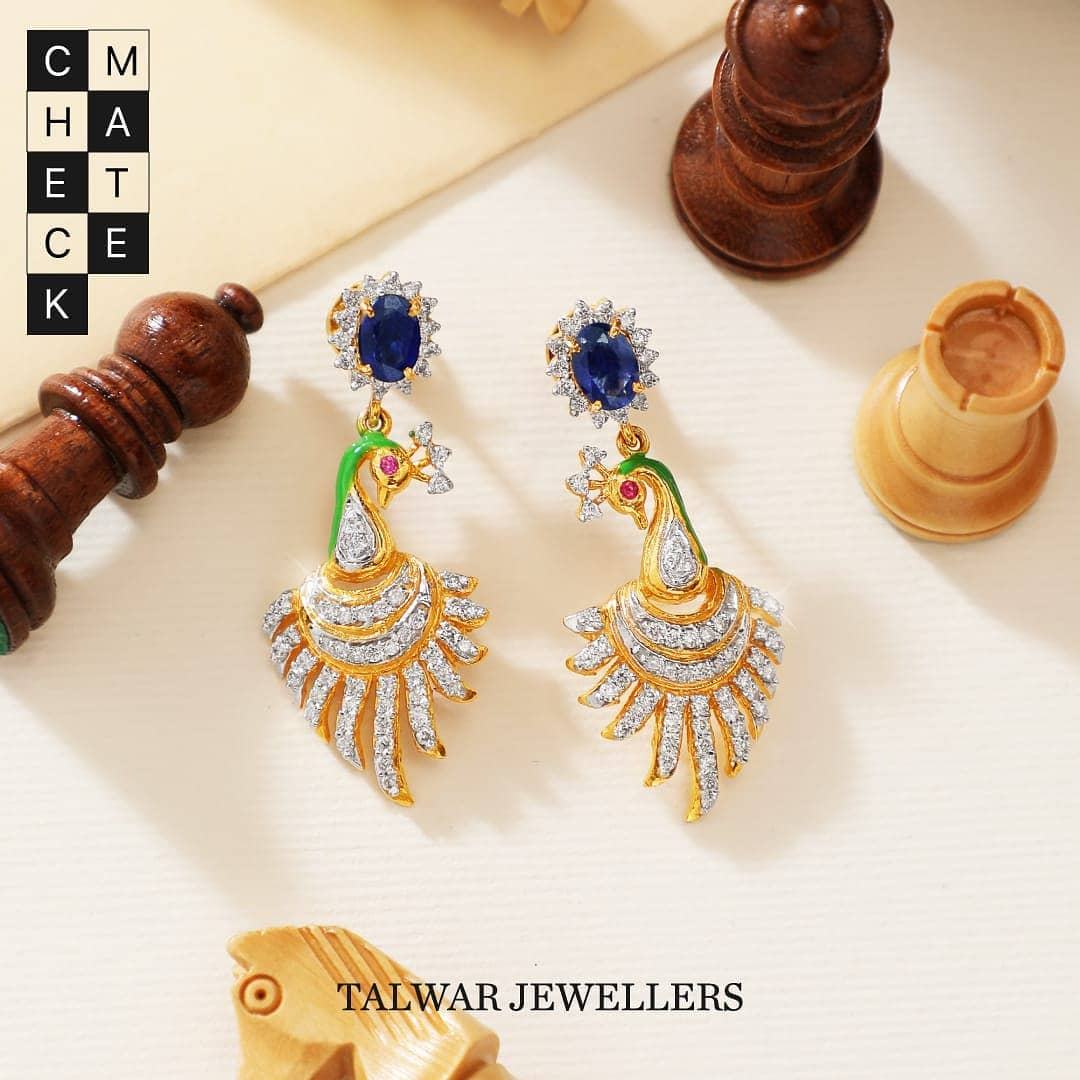 Diamond-ear-studs-designs-2019 (13)