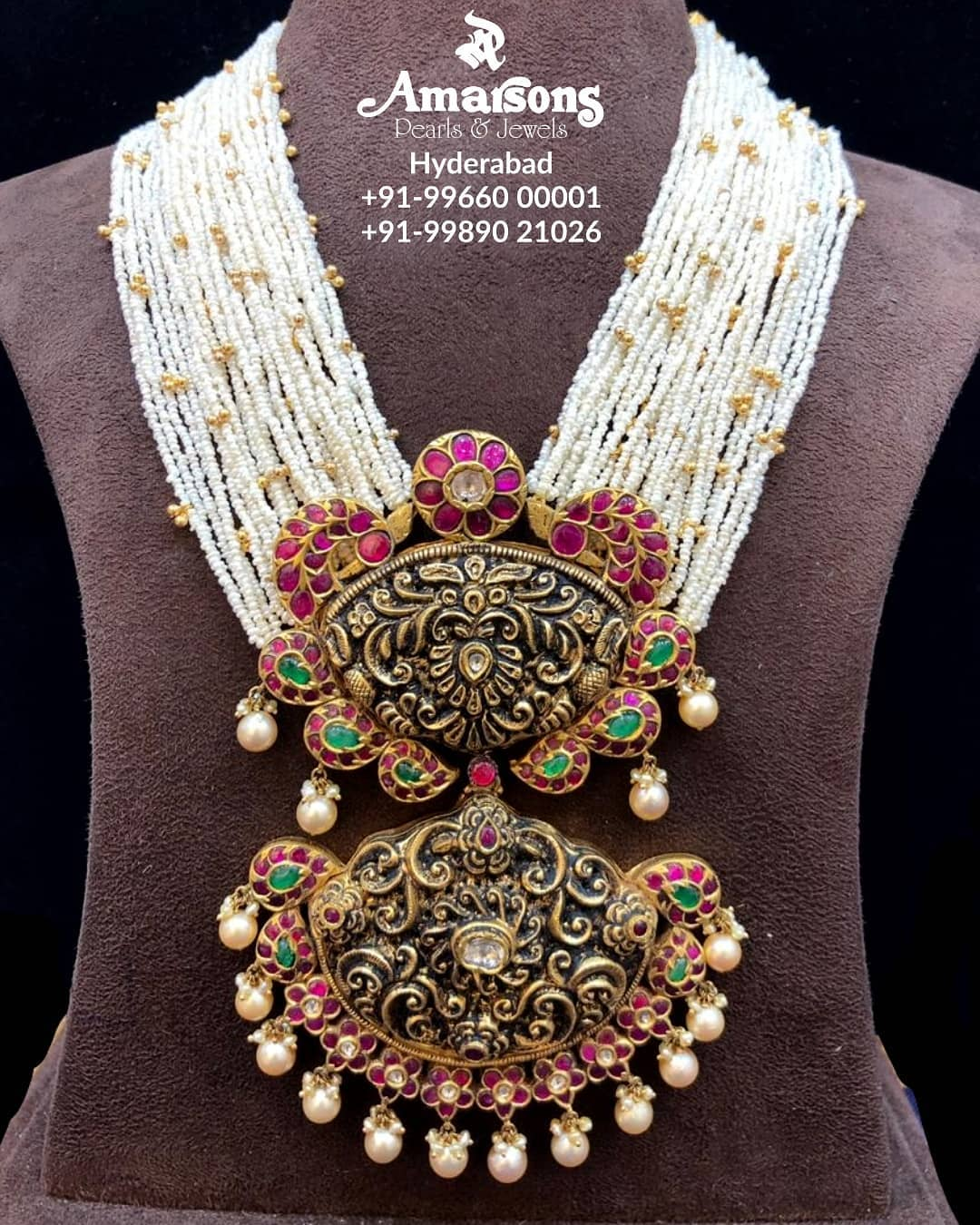 shop-south-indian-gold-haram-designs-online (11)