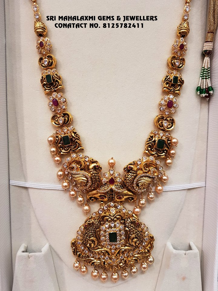 shop-south-indian-gold-haram-designs-online (5)