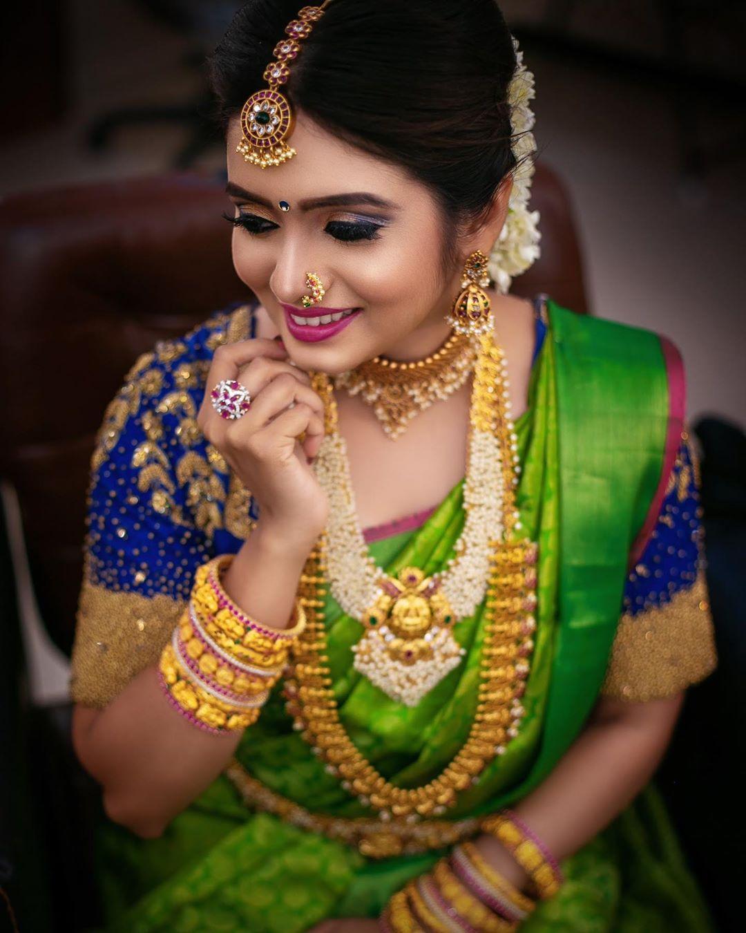 Artificial bridal jewellery sets(11)