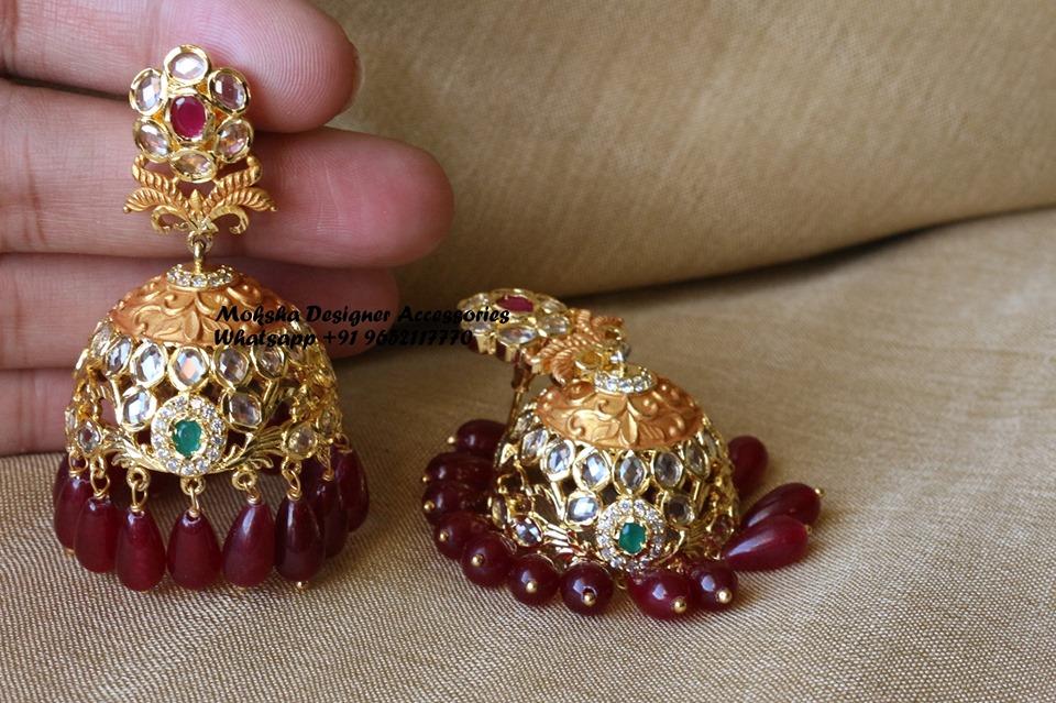 bridal-jhumka-designs (4)