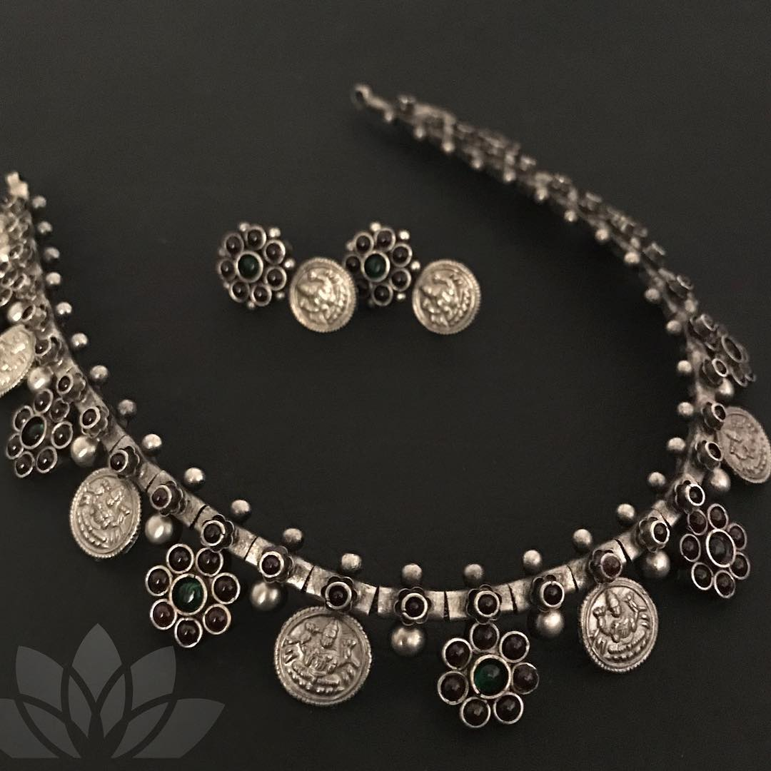 coin-necklace-designs-in-silver (3)